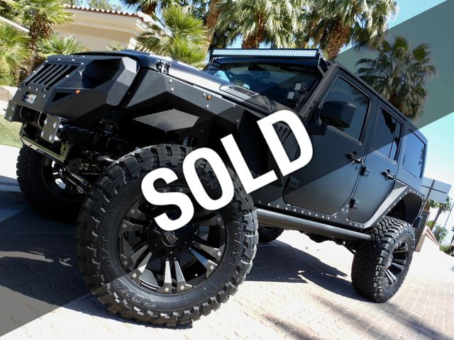 2017 Jeep Wrangler Unlimited 4 Door Custom Lifted 4x4 With