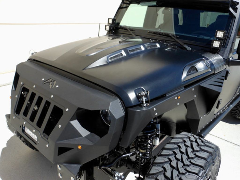 wallpaper wranglers blue custom unlimited customized wrangler jeep