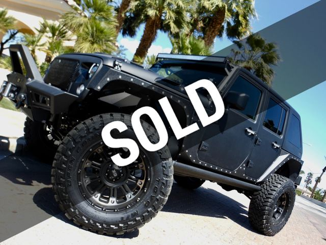 2017 Jeep Wrangler Unlimited 4 DOOR CUSTOM LIFTED 4X4 WITH WINCH AND FASTBACK TOP & 2017 Used Jeep Wrangler Unlimited 4 DOOR CUSTOM LIFTED 4X4 WITH ...