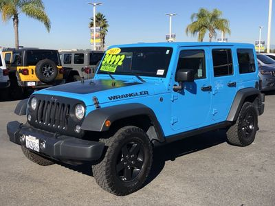 2017 Jeep Wrangler Unlimited Big Bear 4x4 - Click to see full-size photo viewer