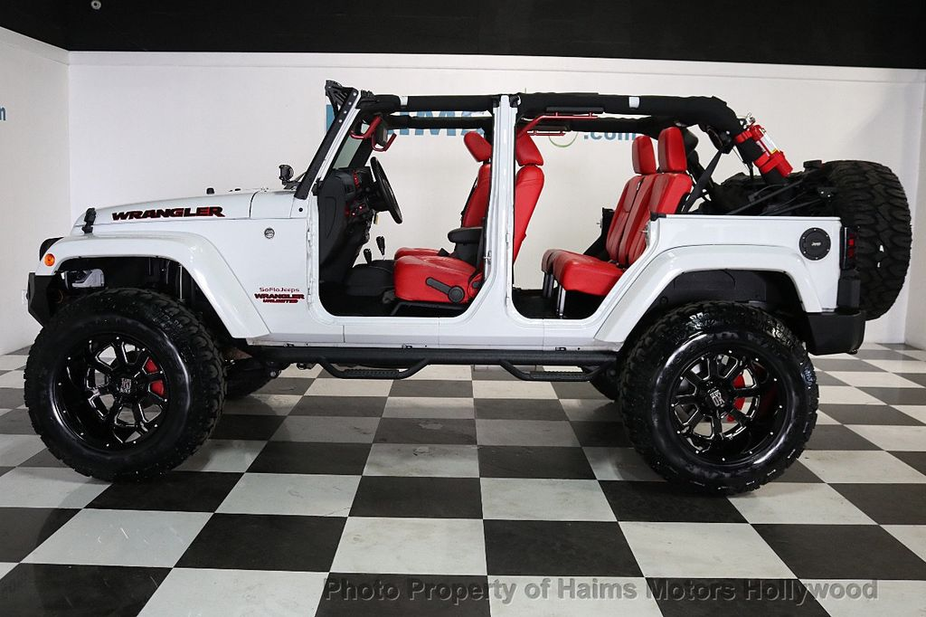 2017 Used Jeep Wrangler Unlimited CUSTOM JEEP at Haims Motors Serving Fort Lauderdale, Hollywood ...