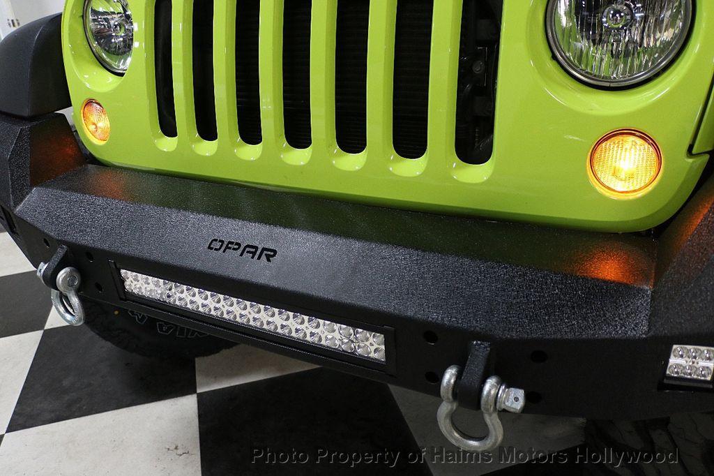2017 Jeep Wrangler Unlimited CUSTOM JEEP - 17975928 - 25