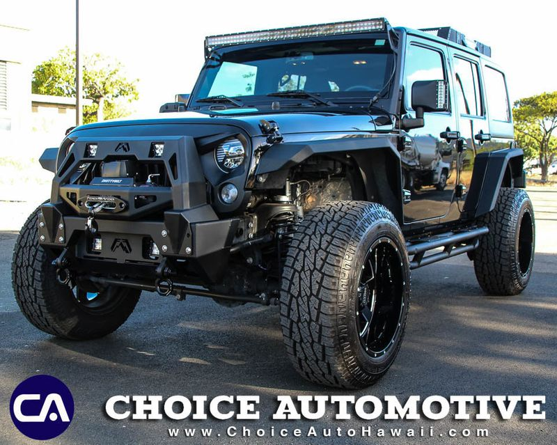 2017 Jeep Wrangler Unlimited *IMMACULATE SUPER LOW MILES*Sport 4x4  - 18720861 - 0