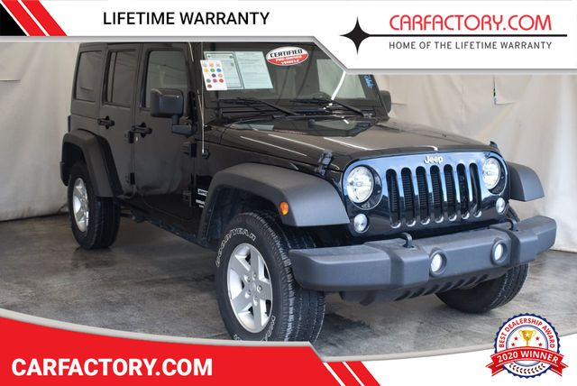 2017 Used Jeep Wrangler Unlimited Rubicon 4x4 At Car Factory Outlet