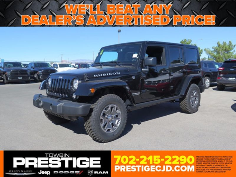 2017 Jeep Wrangler Unlimited Rubicon 4x4 - 16873551 - 0