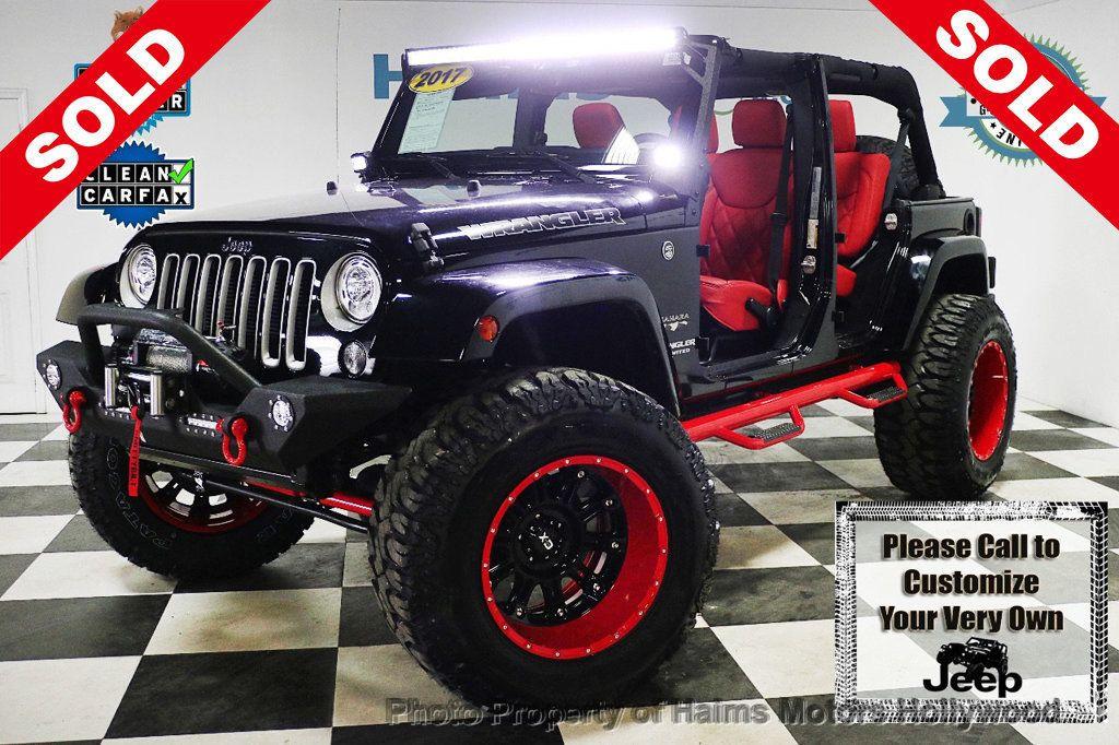 2017 Jeep Wrangler Unlimited Sahara 4x4 - 17858508 - 0