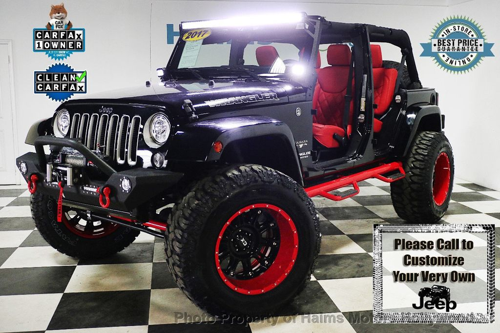 2017 Jeep Wrangler Unlimited Sahara 4x4 - 17858508 - 1