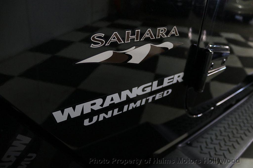 2017 Jeep Wrangler Unlimited Sahara 4x4 - 17858508 - 21