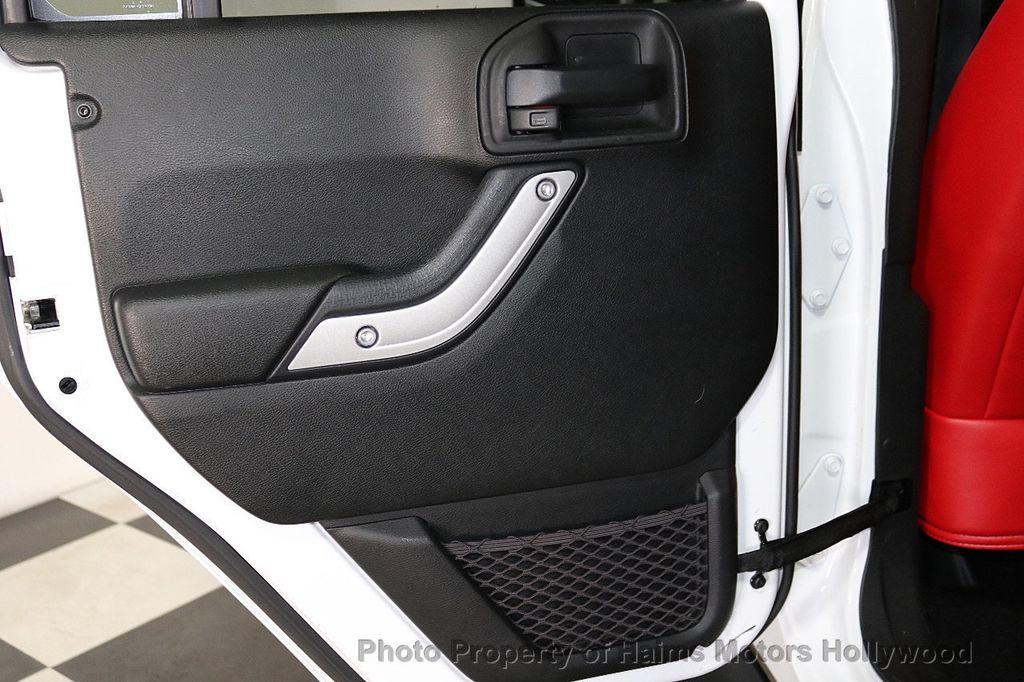 2017 Jeep Wrangler Unlimited Sahara 4x4 - 18387179 - 20