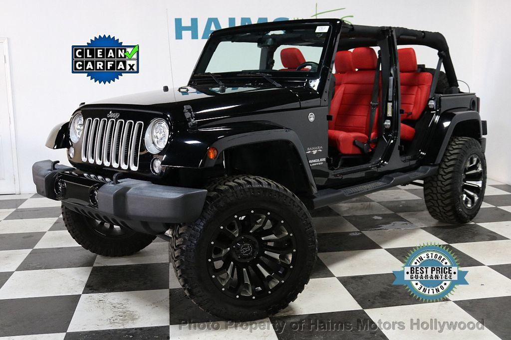 2017 Jeep Wrangler Unlimited Sahara 4x4 - 18482193 - 1