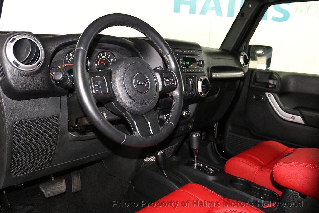 2017 Jeep Wrangler Unlimited Sahara 4x4 - 18482193 - 29