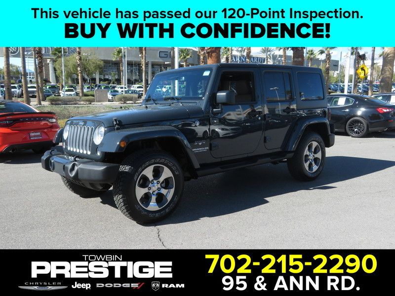 2017 Jeep Wrangler Unlimited Sahara 4x4 - 17407104 - 0