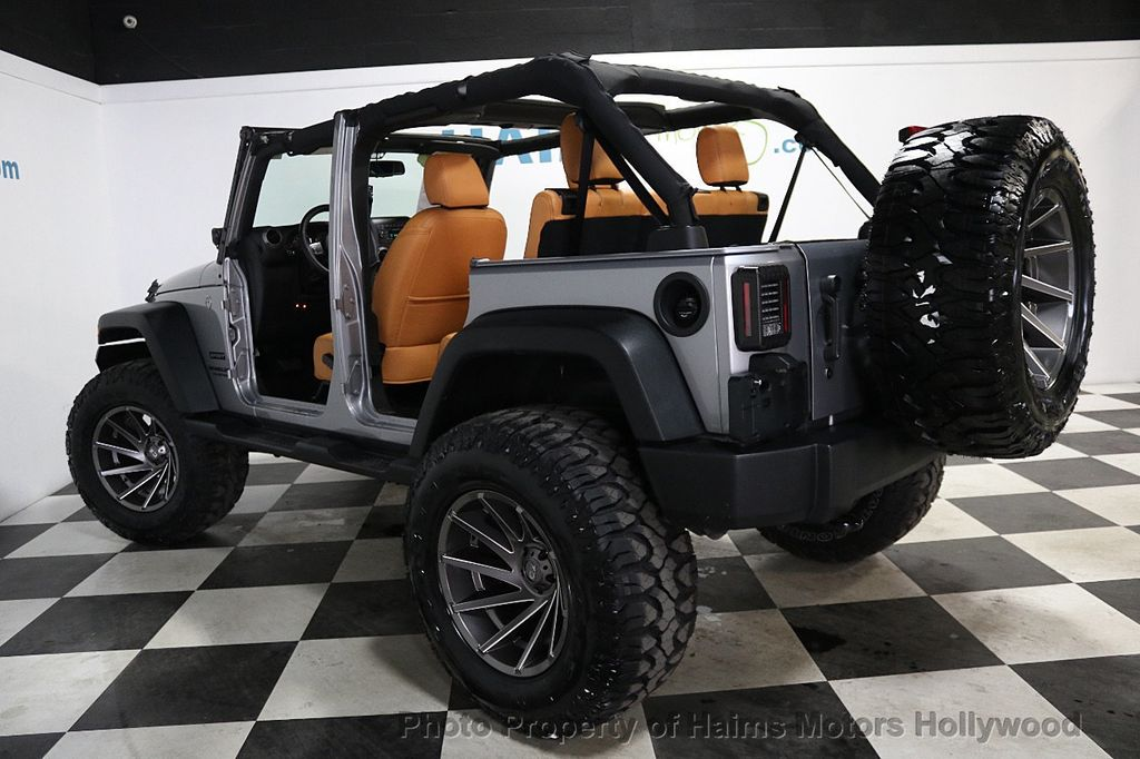 2017 Jeep Wrangler Unlimited Sport 4x4 - 17789449 - 7