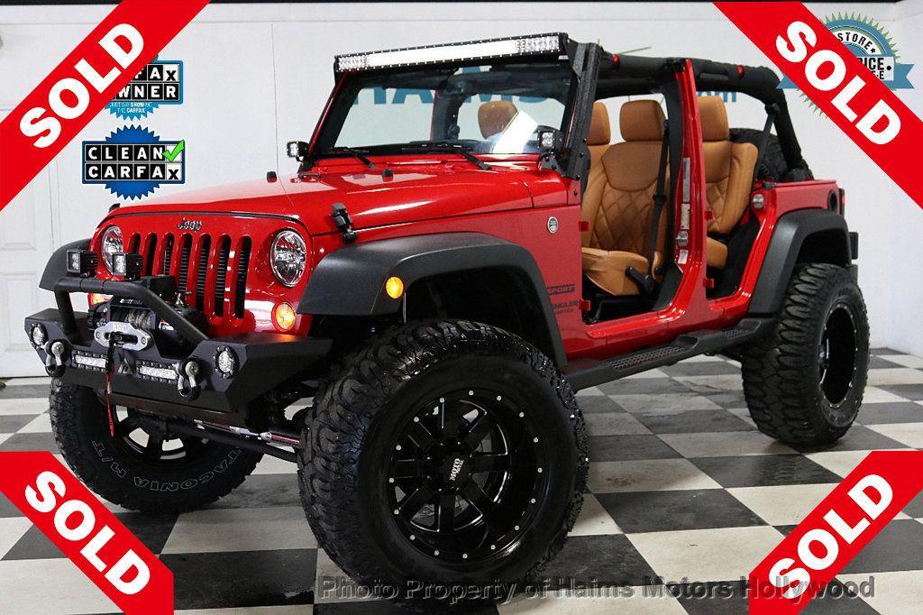 2017 Jeep Wrangler Unlimited Sport 4x4 - 18086219 - 0