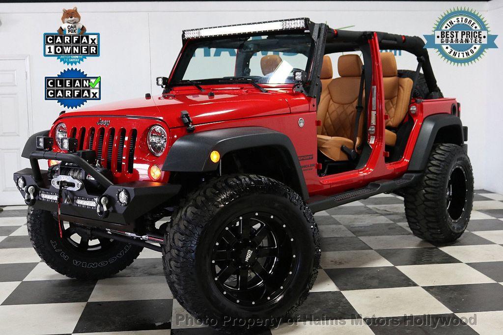 2017 Jeep Wrangler Unlimited Sport 4x4 - 18086219 - 1