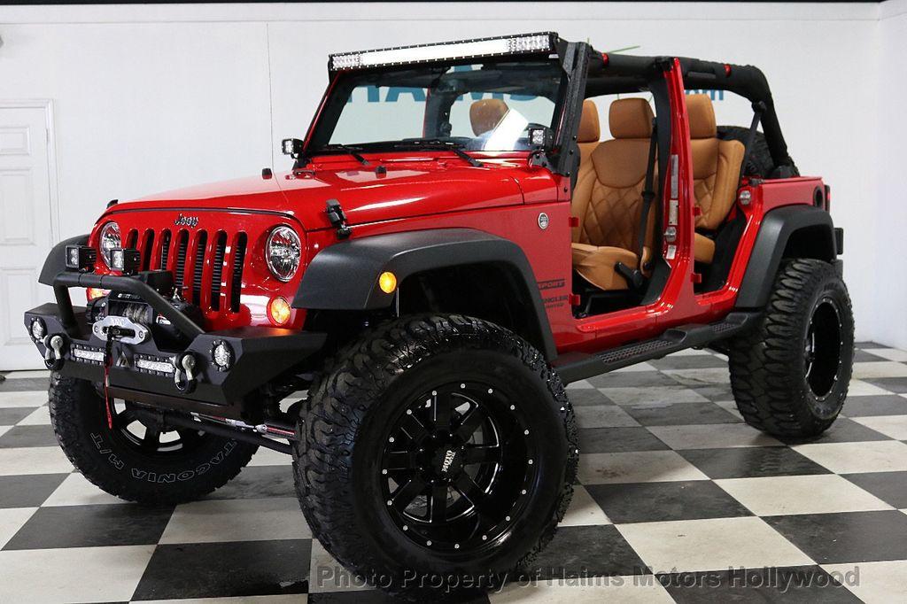 2017 Jeep Wrangler Unlimited Sport 4x4 - 18086219 - 2