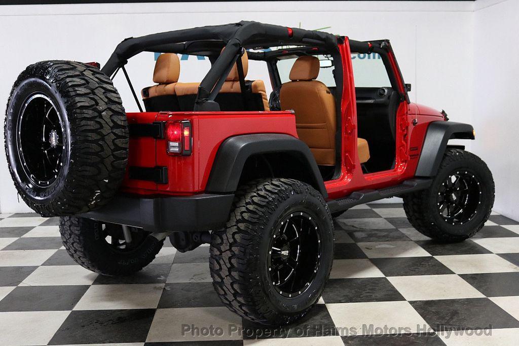 2017 Jeep Wrangler Unlimited Sport 4x4 - 18086219 - 7