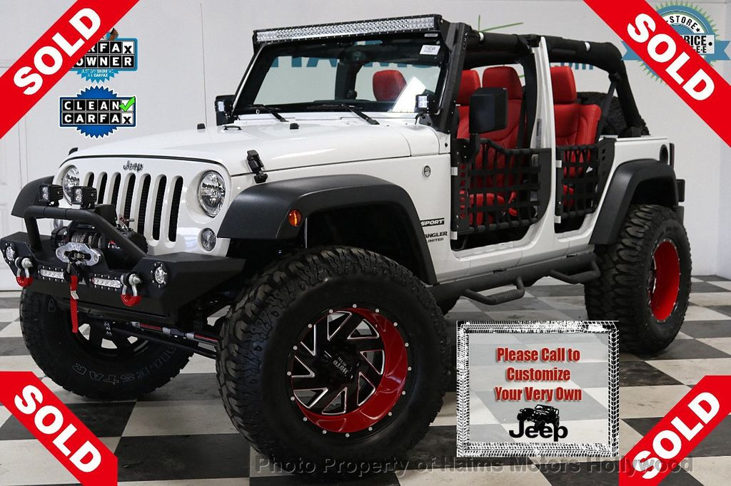 2017 Jeep Wrangler Unlimited Sport 4x4 - 18094539 - 0