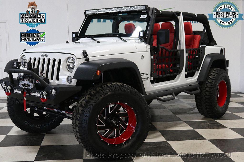 2017 Jeep Wrangler Unlimited Sport 4x4 - 18094539 - 1