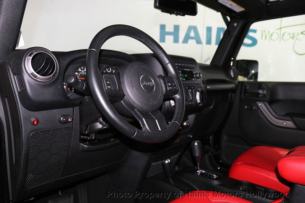 2017 Jeep Wrangler Unlimited Sport 4x4 - 18122625 - 17