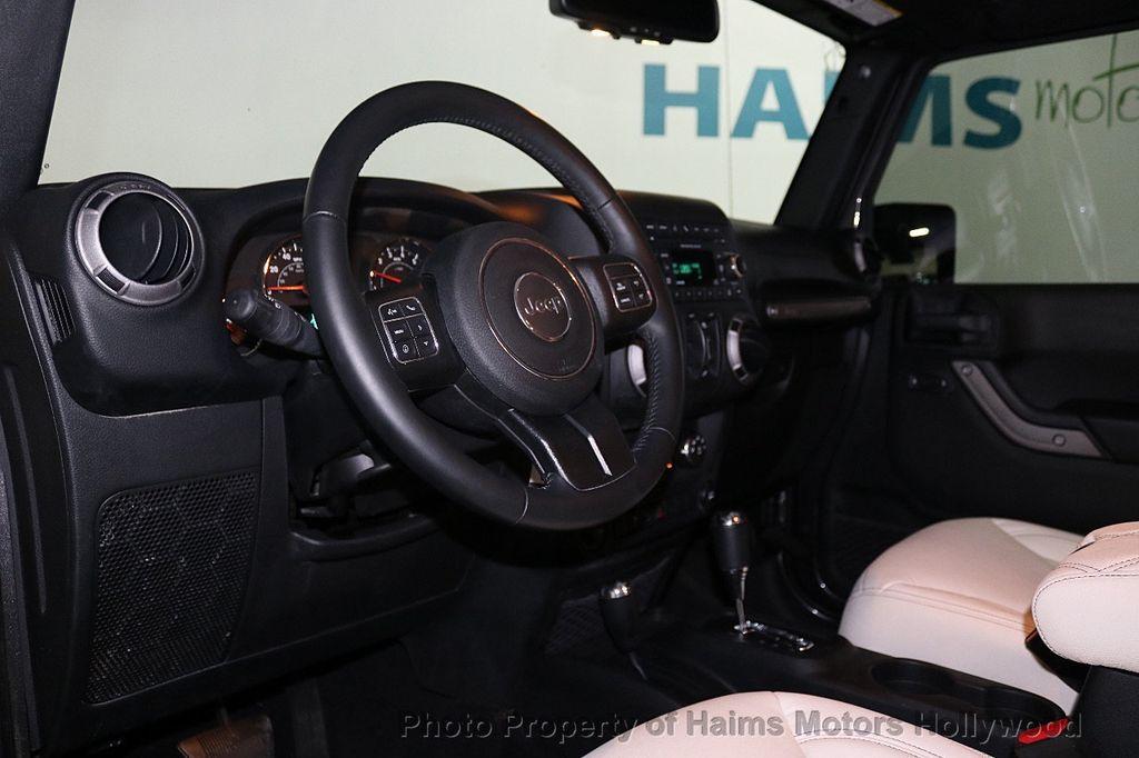 2017 Jeep Wrangler Unlimited Sport 4x4 - 18130393 - 33
