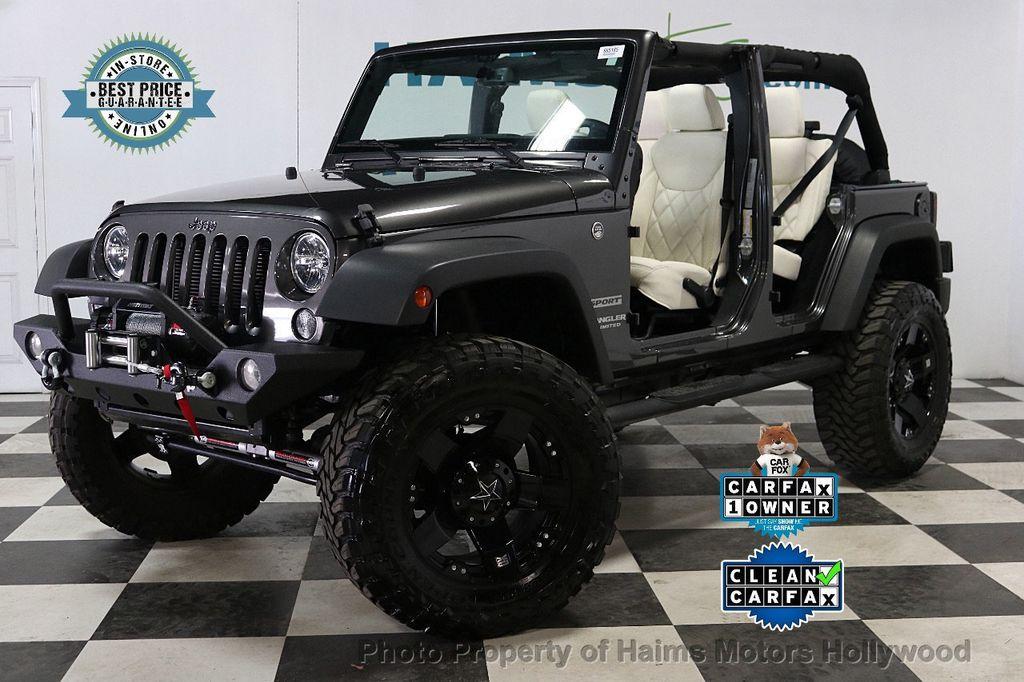 2017 Jeep Wrangler Unlimited Sport 4x4 - 18130393 - 6