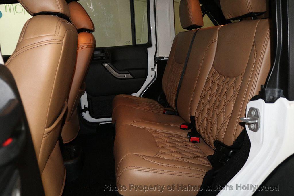 2017 Jeep Wrangler Unlimited Sport 4x4 - 18147715 - 27