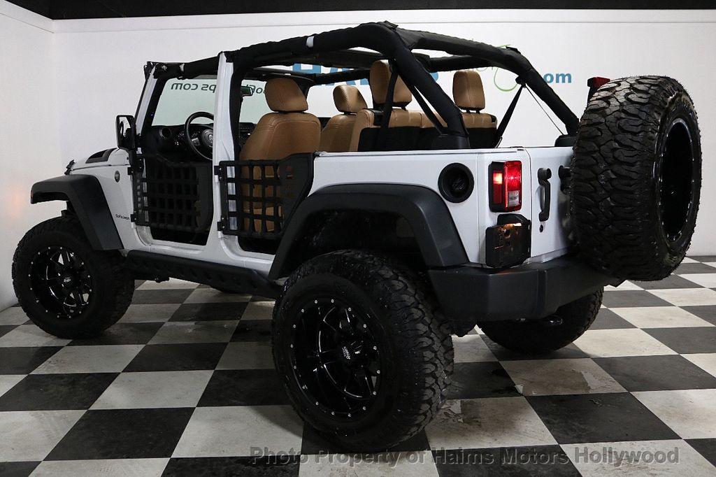 2017 Jeep Wrangler Unlimited Sport 4x4 - 18147715 - 6