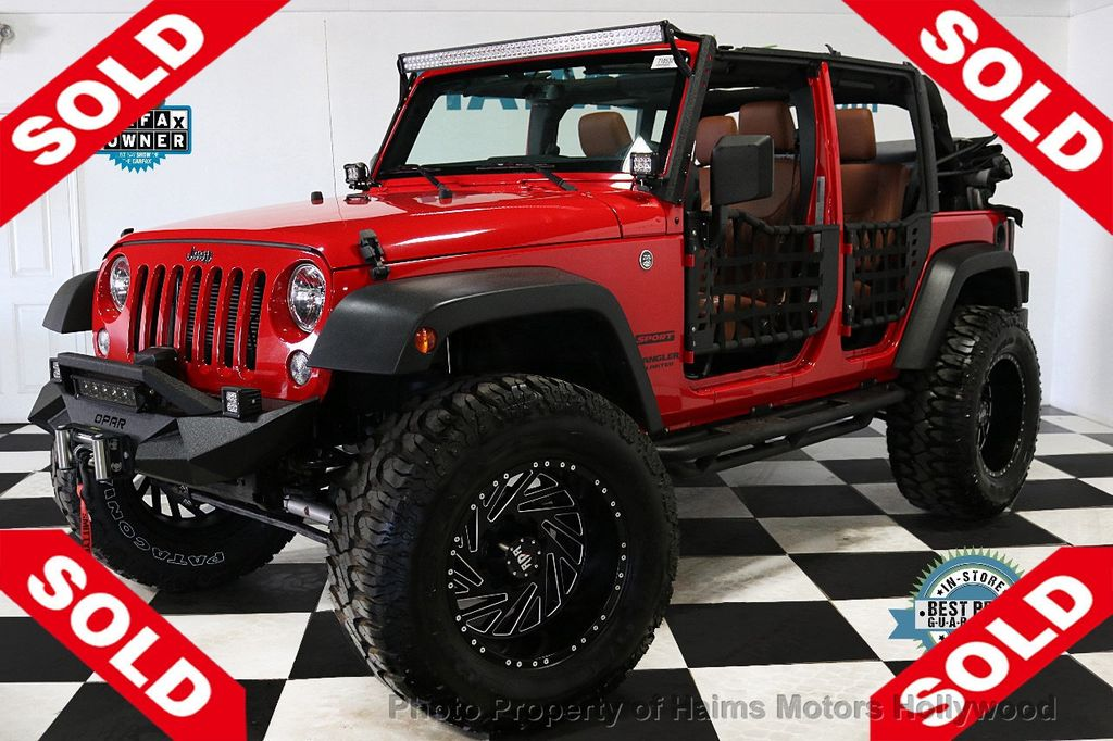 2017 Jeep Wrangler Unlimited Sport 4x4 - 18496941 - 0