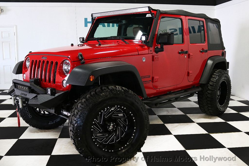 2017 Jeep Wrangler Unlimited Sport 4x4 - 18496941 - 11