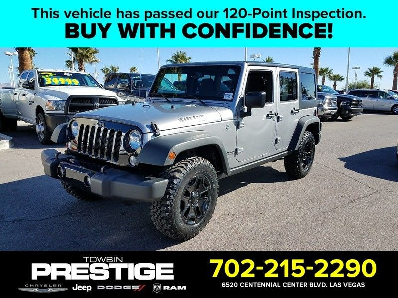 2017 Jeep Wrangler Unlimited Sport 4x4 - 17024253 - 0