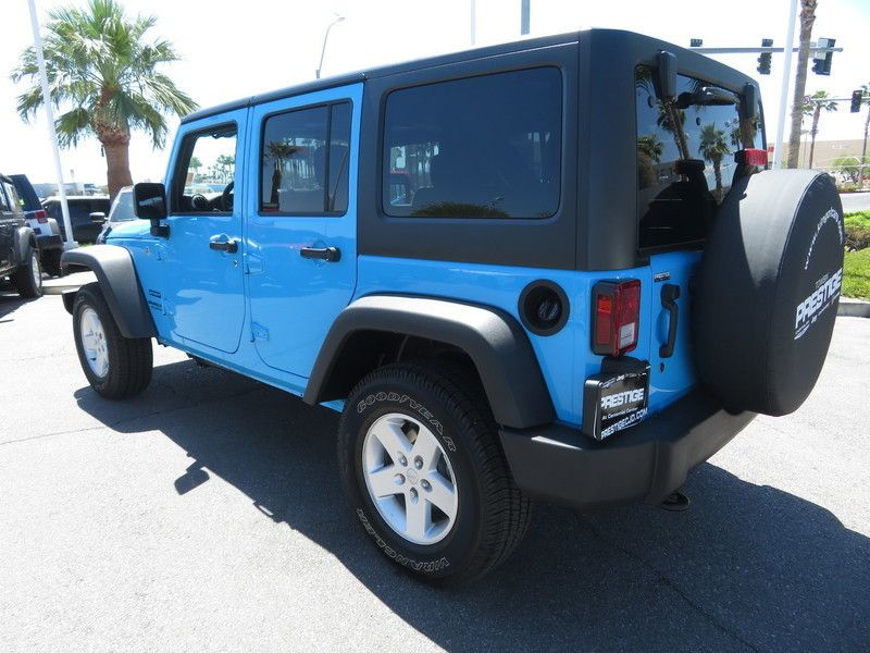 2017 Jeep Wrangler Unlimited Sport 4x4 - 17600612 - 8