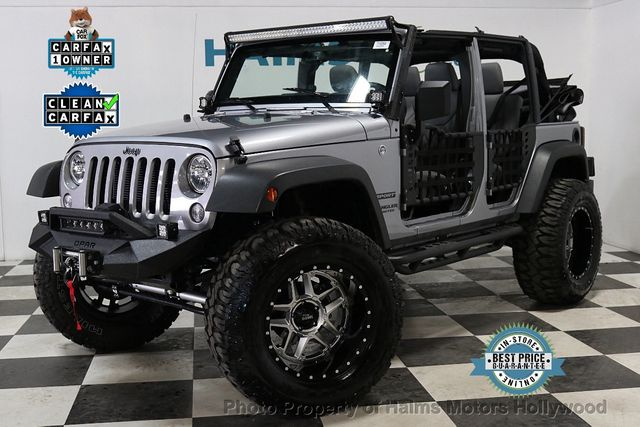 2017 Used Jeep Wrangler Unlimited Sport RHD 4x4 at Haims ...