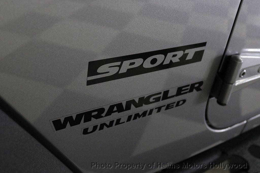 2017 Jeep Wrangler Unlimited Sport RHD 4x4 - 18542269 - 21