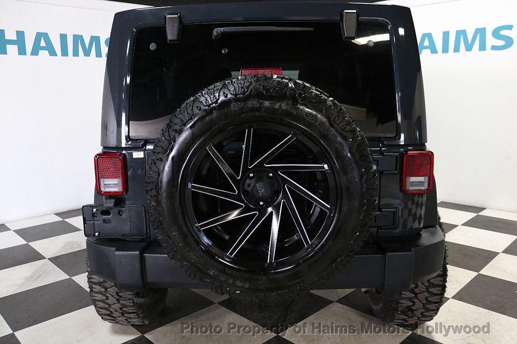 2017 Jeep Wrangler Unlimited Sport RHD 4x4 - 18716854 - 22