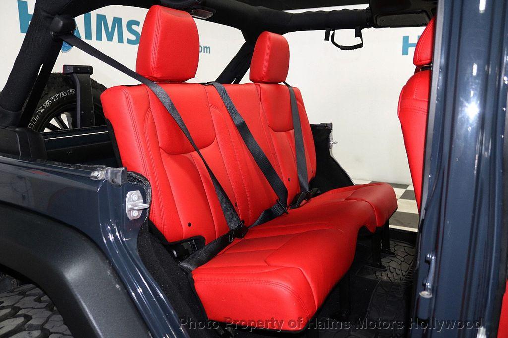 2017 Jeep Wrangler Unlimited Sport RHD 4x4 - 18716854 - 28