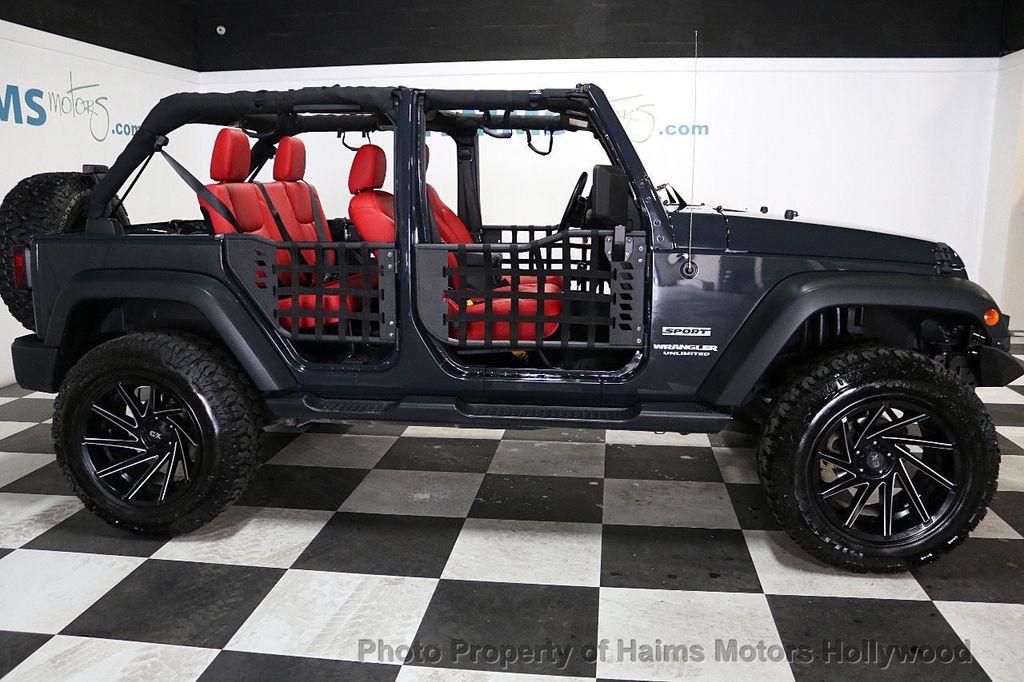 2017 Jeep Wrangler Unlimited Sport RHD 4x4 - 18716854 - 7
