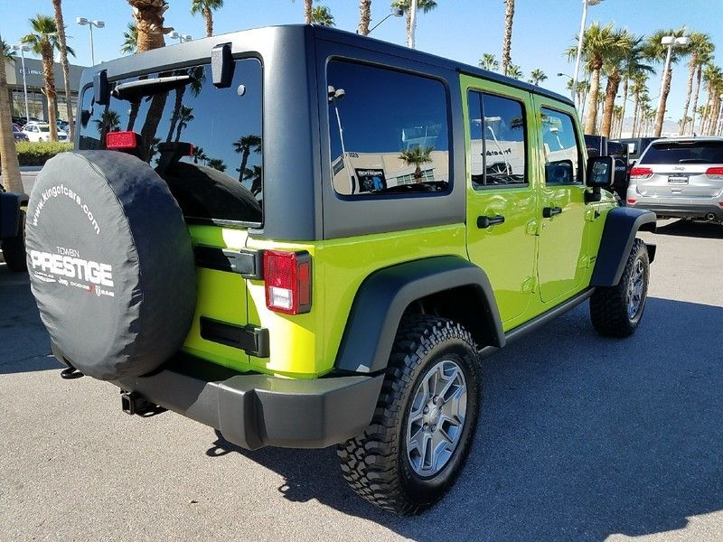 2017 Jeep Wrangler Unlimited UNLIMITED RUBICON - 17019714 - 4