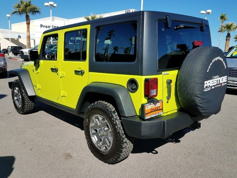 2017 Jeep Wrangler Unlimited UNLIMITED RUBICON - 17019714 - 6