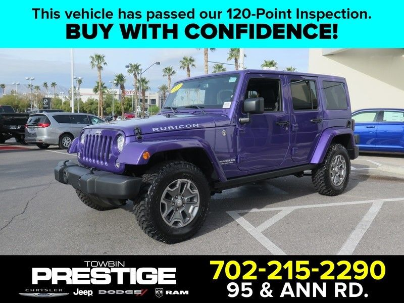 2017 Jeep Wrangler Unlimited Rubicon 17407045 0