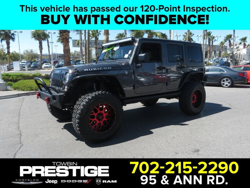 2017 Jeep Wrangler Unlimited UNLIMITED RUBICON - 17408118 - 0