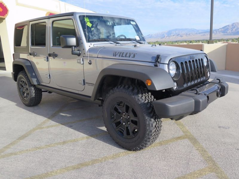 2017 Jeep Wrangler Unlimited Willys Wheeler 4x4 - 16838738 - 2