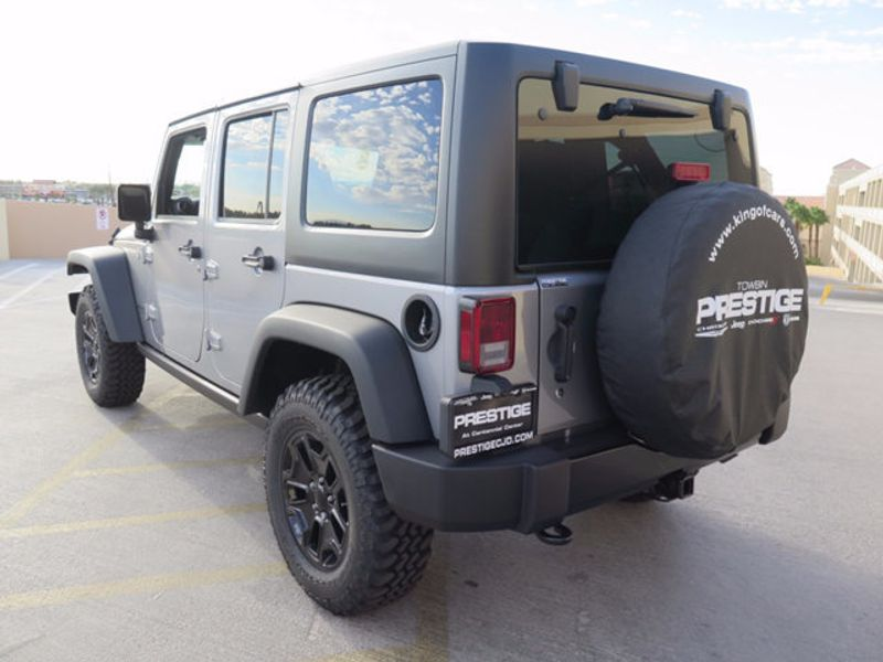 2017 Jeep Wrangler Unlimited Willys Wheeler 4x4 - 16838738 - 3