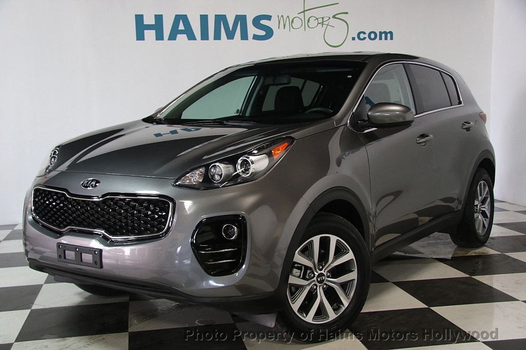 2017 Used Kia Sportage LX AWD At Haims Motors Serving Fort