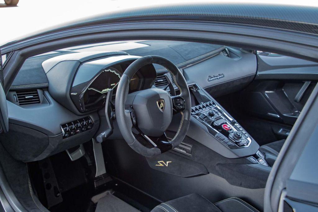 2017 Lamborghini Aventador SV  - 18603473 - 18