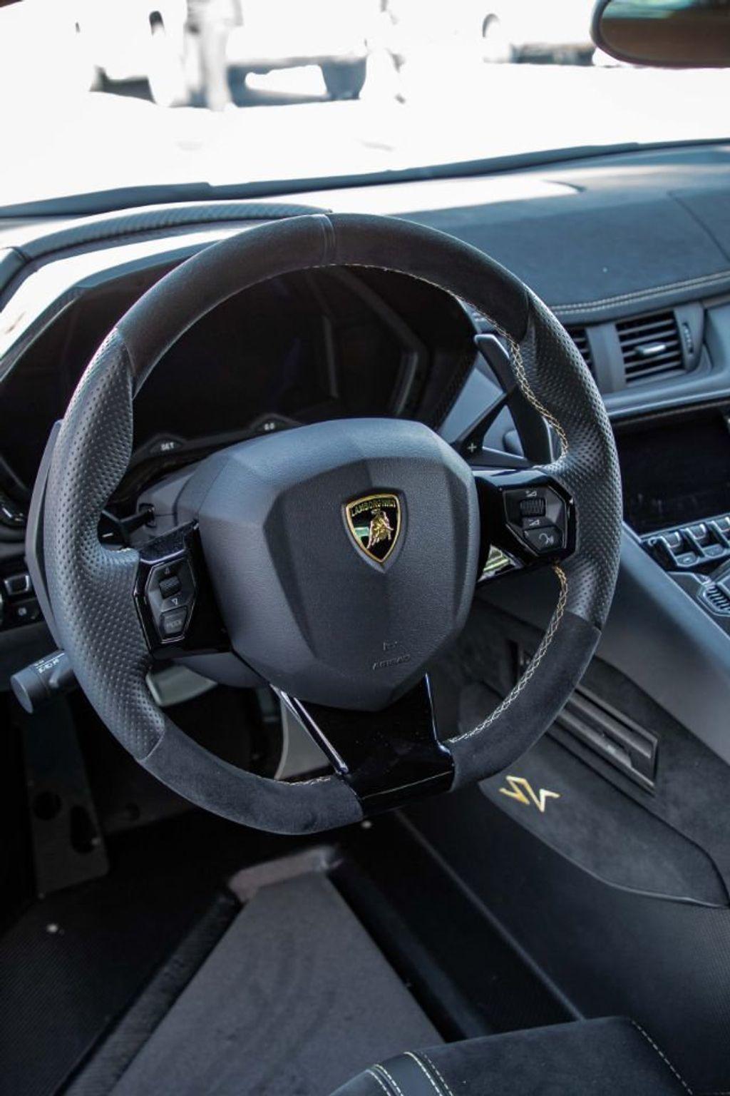 2017 Lamborghini Aventador SV  - 18603473 - 19