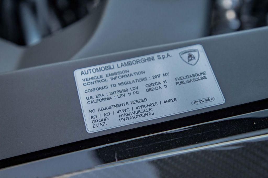 2017 Lamborghini Aventador SV  - 18603473 - 98