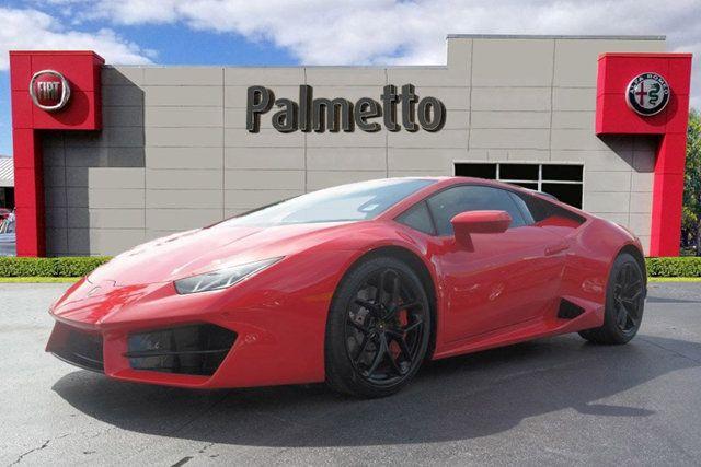 2017 Used Lamborghini Huracan RWD Coupe at Palmetto Alfa Romeo-Fiat Serving  North Miami, FL, IID 18904804