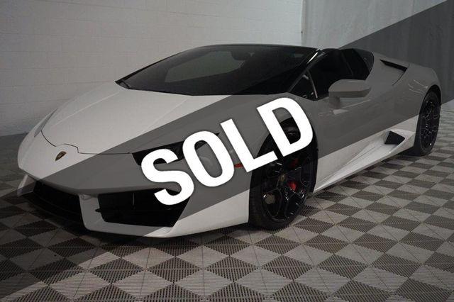 2017 Lamborghini Huracan Rwd Sypder Convertible For Sale Novi Mi