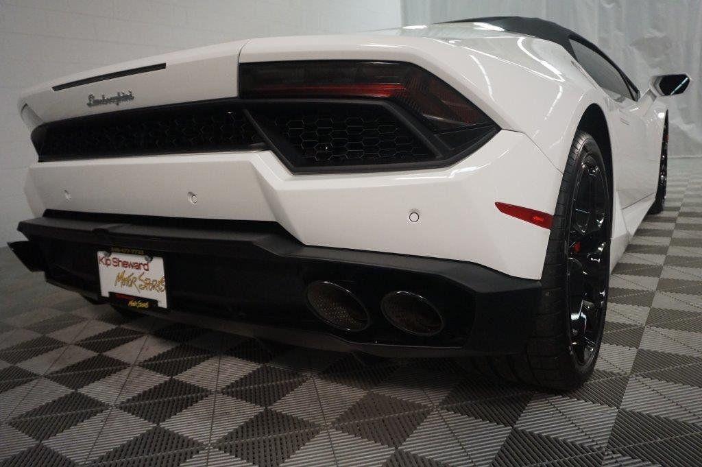 2017 Lamborghini Huracan RWD Sypder - 17655121 - 13